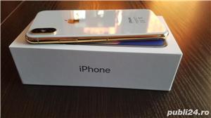 iphone x 24k gold edition placat/suflat cu aur 24 karate,neverlocked - imagine 1