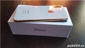 iphone x 24k gold edition placat/suflat cu aur 24 karate,neverlocked - imagine 5