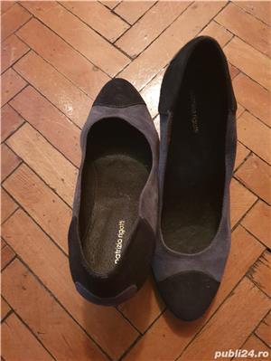 Pantofi piele intoars - imagine 3