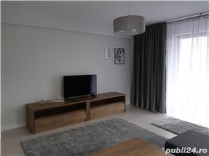 Proprietar, apartament 2 camere 85mp, 2 bai, lux, complet mobilat si utilat, bloc nou P+3 cu liftt - imagine 5