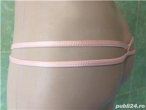 HOT! Chiloti tanga de senzatie! colectie lux BOOHOO(UK) fete/femei culoare roz mar.S(noi-eticheta) - imagine 5