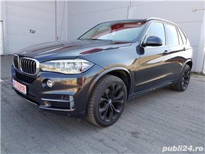 BMW X5 3.0 TDi 258 Cp 2014 Euro 6 Automat - imagine 1