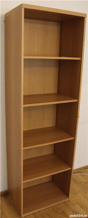 Biblioteca cu polite; Fiset cu rafturi; Dulap - imagine 2