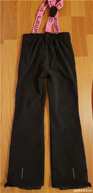 Pantaloni ski copii LEWRO NUKA, marime 152-158, 8000 mm - imagine 2