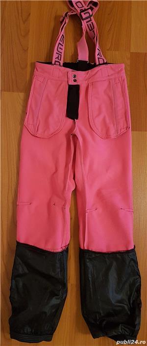 Pantaloni ski copii LEWRO NUKA, marime 152-158, 8000 mm - imagine 3