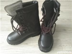 Bocanci armata (militari ) originali, noi, marime 24 - imagine 2