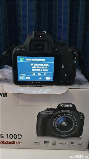Camera aparat foto DSLR Canon EOS 100D fullbox - imagine 4