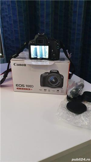 Camera aparat foto DSLR Canon EOS 100D fullbox - imagine 2