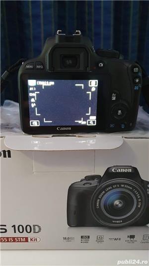Camera aparat foto DSLR Canon EOS 100D fullbox - imagine 3