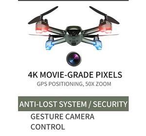 Drona camera 4k ,zbor 16-20 minute,Marime 31 cm Noua, Wi-Fi FPV,follow - imagine 2