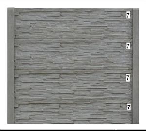 Vindem Plăci și Stâlpi gard beton diferite modele și montaj  - imagine 2
