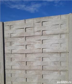 Vindem Plăci și Stâlpi gard beton diferite modele și montaj  - imagine 3