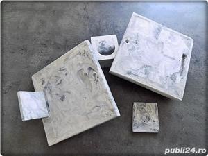 Set 2 tablouri cu arici de mare - cutiuta cadou - imagine 3