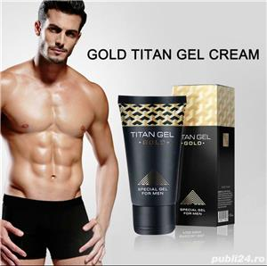 Titan gel for Man classic sau gold 50 ml - imagine 5