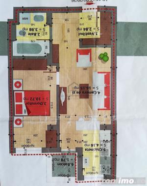 Apartament  2 camere metrou  Dimitrie Leonida - imagine 19