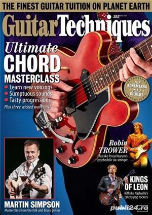 Reviste Guitar Techniques, Total Guitar, Guitarist, Guitar Player, Acoustic si Bass - imagine 3