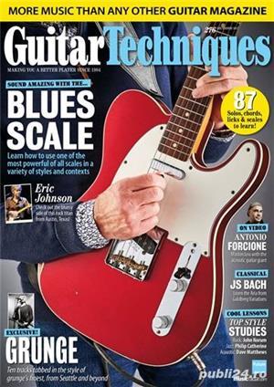 Reviste Guitar Techniques, Total Guitar, Guitarist, Guitar Player, Acoustic si Bass - imagine 2