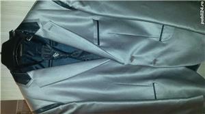 2 costume daniel gallotti+pantofi piele,camasi,lavaliere - imagine 4