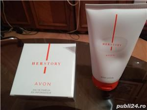 Parfum HERSTORY by Avon + crema de corp - imagine 2
