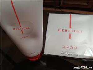 Parfum HERSTORY by Avon + crema de corp - imagine 3