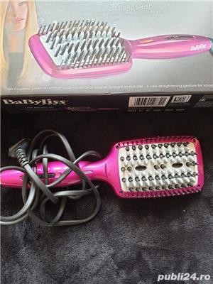 Perie electrică pentru îndreptat părul Liss Brush 3D - imagine 2