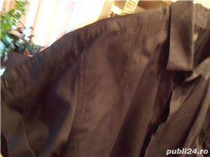 Vand camasa barbateasca, noua, neagra, maneca scurta, nr 44-46, Zara, 100% bumbac, 96 lei  - imagine 3