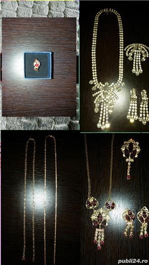 Aur 14 K,bijuterii,seturi - imagine 1