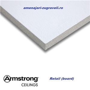 Tavan Casetat Placi Minerale Knauf Armstrong - montajul inclus - tavan la cheie - imagine 4