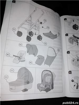 Căruț bebeluși +accesorii  - imagine 5