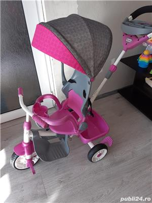 Vand Tricicleta Little Tikes - Perfect Fit 4 in 1, Roz - imagine 4