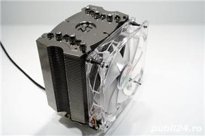Surub de silicon pentru ventilatorul procesorului CPU cooler antivibratii surub fixare FAN - imagine 2