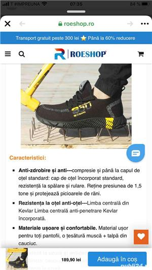 Vand adidasi Sjubang noi 44 - imagine 4