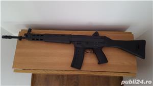 Pusca airsoft AKM 47C, MP44, Type 89 - imagine 2
