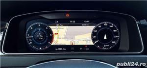 Vw Golf Înmatriculata RO,Plasma/Piele/Distronic//Car-Net/Clima/Navi mare/Alarma/Jante 17/ LED Full - imagine 4