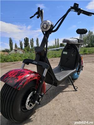 Scuter electric scooter Cu baterie detașabilă - imagine 3