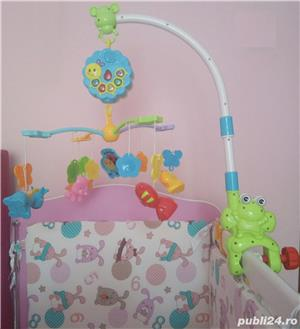 Vand carusel pentru copii cu rotire, lumini si melodii - imagine 1