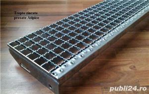 Trepte Metalice zincate Sp, 760x220,25x3 - imagine 1