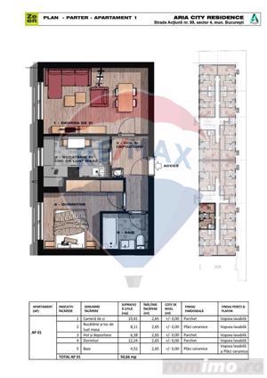Apartament cu 2 camere, zona Grand Arena Mall - imagine 4
