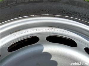 Jante oțel 17 + piulițe + capace - imagine 3