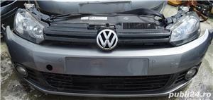 Fata completa Volkswagen Golf 6 din 2010 volan pe stanga  - imagine 1