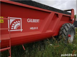 Gilibert helix 8, remorca imprastiat gunoi (GARANTIE) - imagine 1
