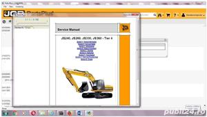 JCB Electronic Parts Plus+ 2017 Catalog + JCB Service Manuals 2017 - imagine 2