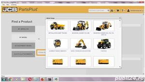 JCB Electronic Parts Plus+ 2017 Catalog + JCB Service Manuals 2017 - imagine 1