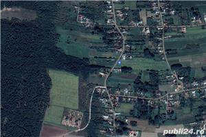 Teren 4000 mp pentru casa ta de la țară, aproape de pădure, asfalt și utilitați. Argeș, Hârsești. - imagine 2