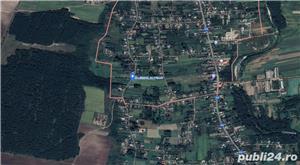 Teren 4000 mp pentru casa ta de la țară, aproape de pădure, asfalt și utilitați. Argeș, Hârsești. - imagine 1