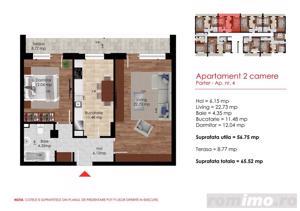 Apartament 2 camere cu 75mp Curte aproape de metrou Berceni - imagine 4