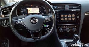 Vw Golf Înmatriculata RO,Plasma/Piele/Distronic//Car-Net/Clima/Navi mare/Alarma/Jante 17/ LED Full - imagine 10