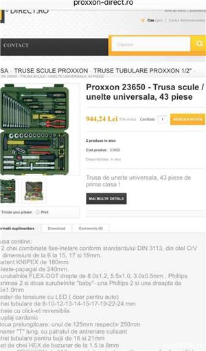 Trusa scule Proxxon 23650 / unelte universala, 43 piese  - Noua! - imagine 3