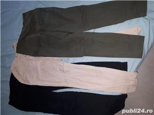 Lot blugi pantaloni gravide h&m h and m lc waikiki L 40 - imagine 2