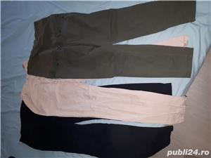 Lot blugi pantaloni gravide h&m h and m lc waikiki L 40 - imagine 1